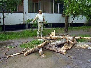 Пока чиновники делят трубы, воронежцев заливает водой