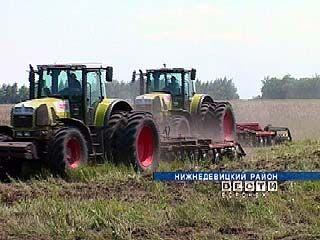 Поля Нижнедевицкого района планируется засеять озимыми