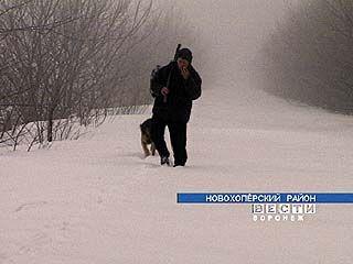 Поселок Долгинка оказался в снежном плену