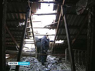 Последствия непогоды устраняют в Воронеже второй день
