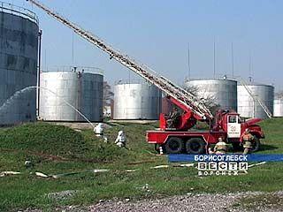 Пожарные Борисоглебска провели широкомасштабные учения