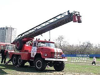 Пожарные провели выставку