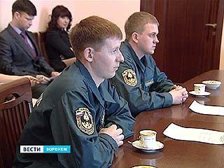 Пожарных из Лискинского района наградили за спасение 10-летней девочки