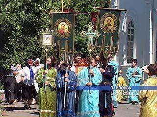 Православная молодежь впервые в истории области отправилась в крестный ход