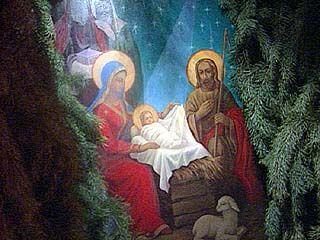 Православные христиане отметили Рождество Христово