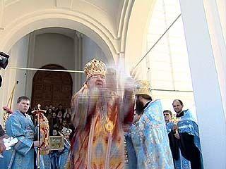 Православные воронежцы отмечают Благовещение