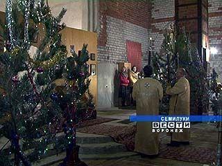 Праздничные службы прошли во всех храмах Воронежской епархии