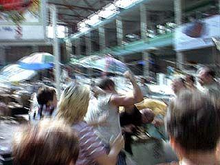 Предприниматели Центрального рынка опять бастуют