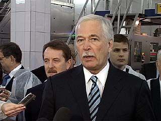 Председатель Государственной Думы Борис Грызлов посетил Воронеж