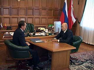 Председатель Союза архитекторов России Андрей Боков прибыл в Воронеж