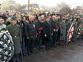 Представители ЛДПР провели митинг в Коминтерновском районе
