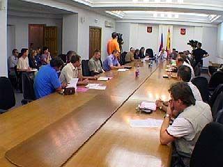 Представители Облдумы говорили о судьбе воронежского футбола