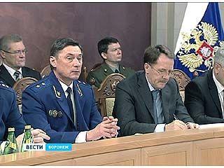 Представители Воронежской областной прокуратуры отчитались за прошедший год