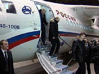 Премьер-министр Владимир Путин посетил Воронежский авиазавод