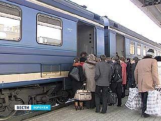 Пригородных поездов в Воронежской области станет в 10 раз меньше