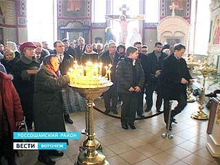 Прихожанам Россошанско-Острогожской Епархии представили правящего архиерея