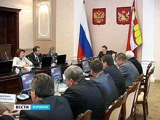 Проект областного бюджета в первом чтении обсудили в правительстве области
