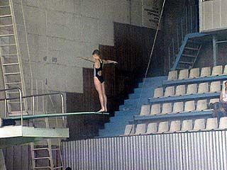 Проходит чемпионат Воронежской области по прыжкам в воду