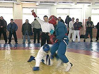 Прошел открытый турнир по армейскому рукопашному бою