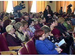 Прошел первый съезд женщин Воронежской области