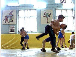 Прошли открытые соревнования по греко-римской борьбе