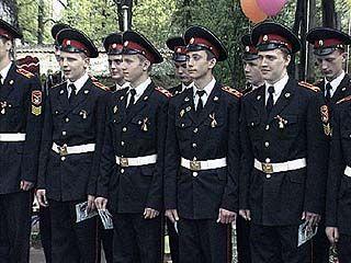 Путёвку во взрослую жизнь получил первый кадетский выпуск
