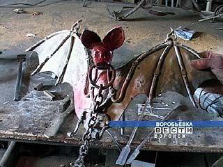 Работы воробьёвских кузнецов известны далеко за пределами области