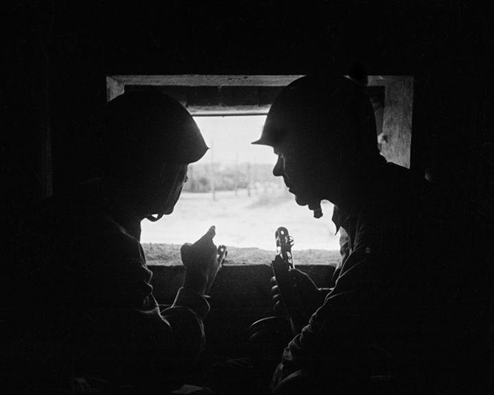 Редкие снимки воронежских будней героев Второй мировой войны