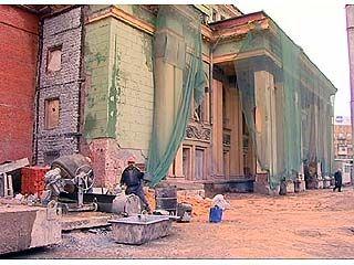 Реконструкция Театра драмы должна быть завершена к следующему Дню города