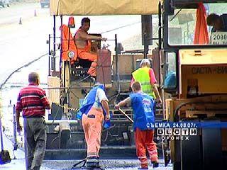 Реконструкция воронежских автомагистралей идет усиленными темпами