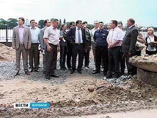 Реконструкцию набережной Массалитинова завершат к юбилею Воронежа