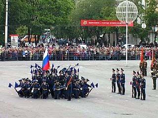 Репетиции парада ко Дню Победы уже начались