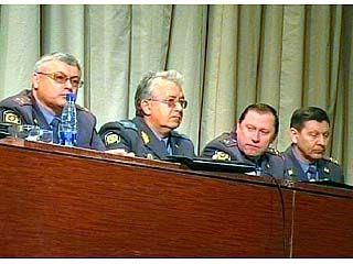 Руководители УВД области говорили о дисциплине с инспекторами ГИБДД
