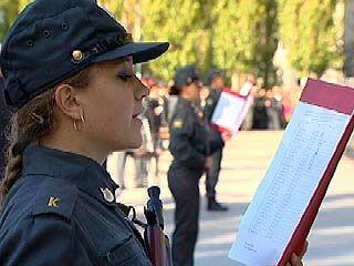 Ряды воронежской милиции существенно пополнились