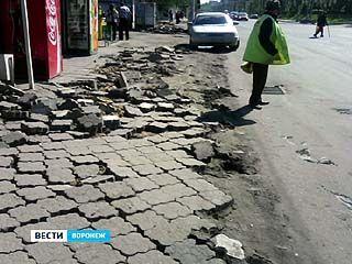 С предпринимателей Cоветского района снова требуют деньги на тротуарную плитку