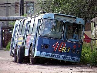 С улиц Воронежа исчезли троллейбусы