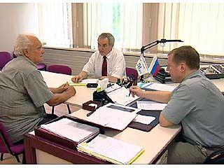 С жителями центрального района работали специалисты обладминистрации