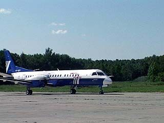 СААБ-2000 совершил первый регулярный рейс Москва - Воронеж