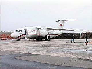 Самолёт АН-148, произведённый на ВАСО, совершил аварийную посадку