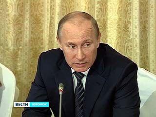 Сегодня в Воронеж с рабочим визитом прилетает президент России Владимир Путин