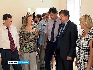 Сергей Колиух проинспектировал строительство детсада ╧19 в Сомово