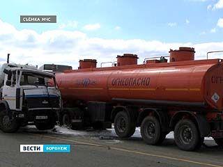 Серьёзное ДТП с бензовозом: по счастливой случайности жертв удалось избежать