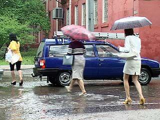 Сезон дождей в Воронеже продлится ещё на неделю