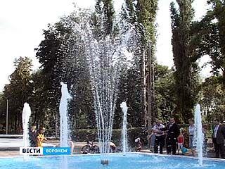 Школьники Левобережного района на 1 сентября в подарок получили фонтан