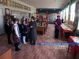 Школьному краеведческому музею в селе Старая Криуша - 25 лет