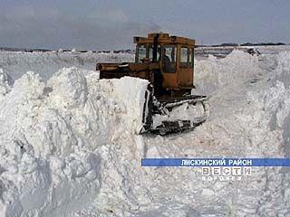 Сильный снегопад не застал дорожников области врасплох