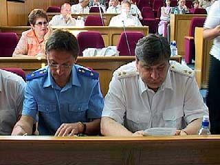 Силовики доложили депутатам о профилактике правонарушений