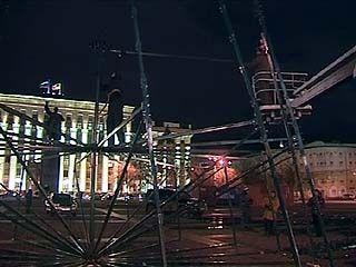 Символ нового года на площади Ленина будет очень ярким