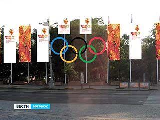 Символ Олимпиады украсит главную площадь Воронежа на несколько месяцев