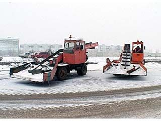 Снегоуборочная техника к зиме почти готова